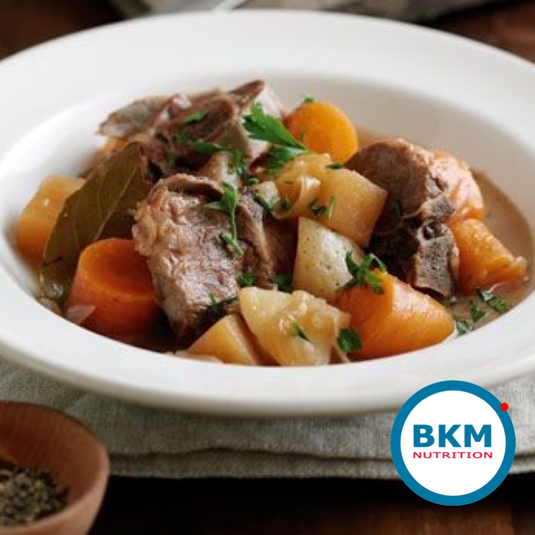 6 Hour Slow Cooked Lamb, Black Garlic And Rosemary Stew – Lower Calorie