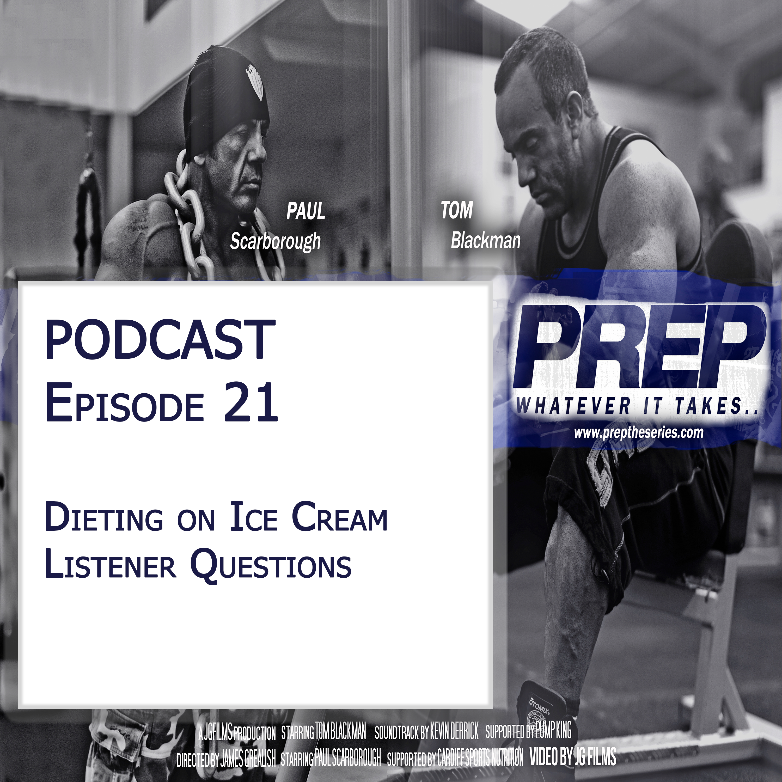 Episode 21 – Dieting On Ice Cream And Listener Questions