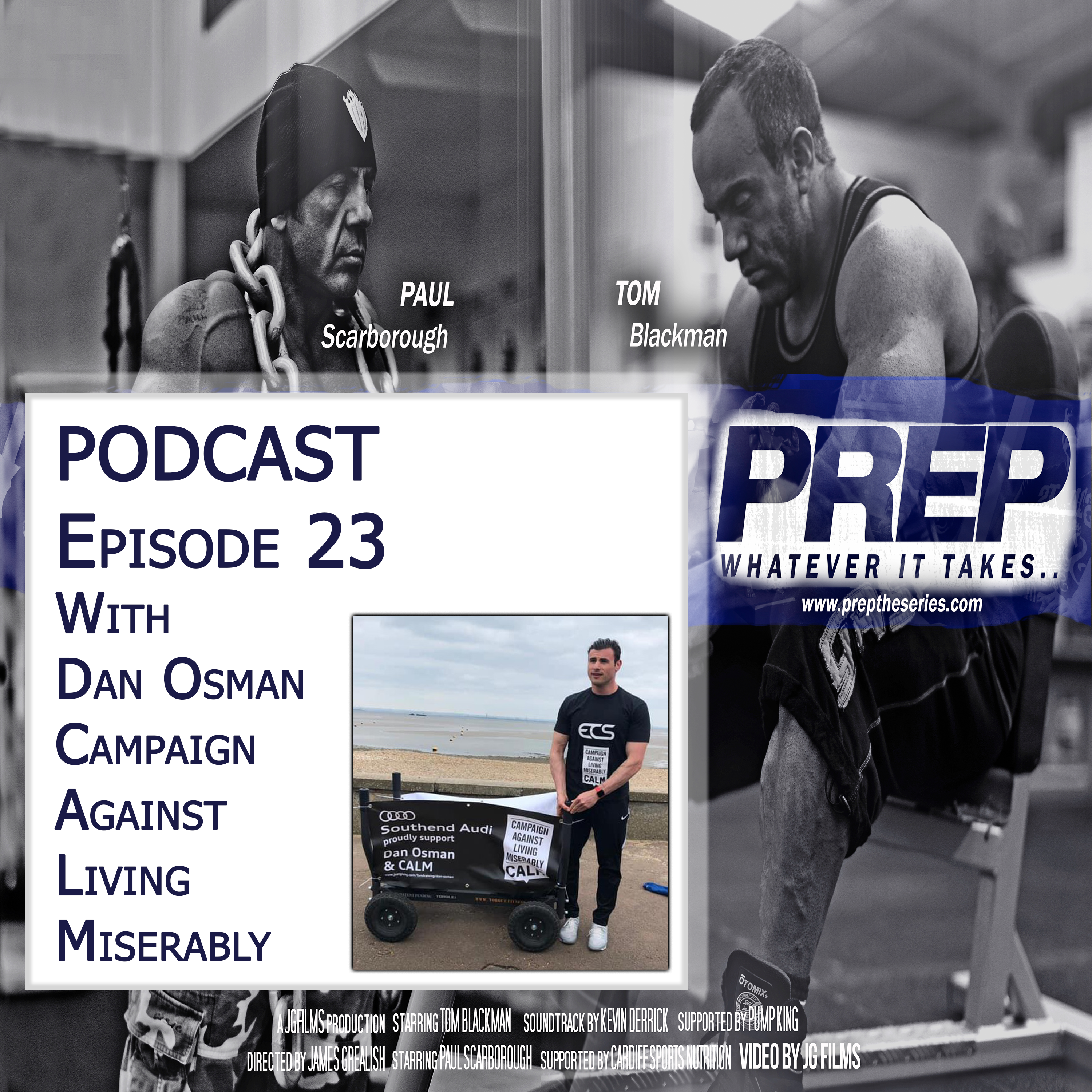 Episode 23 With CALM Campaigner And Health Coach Dan Osman
