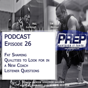 Prep Radio podcast episode 26 description