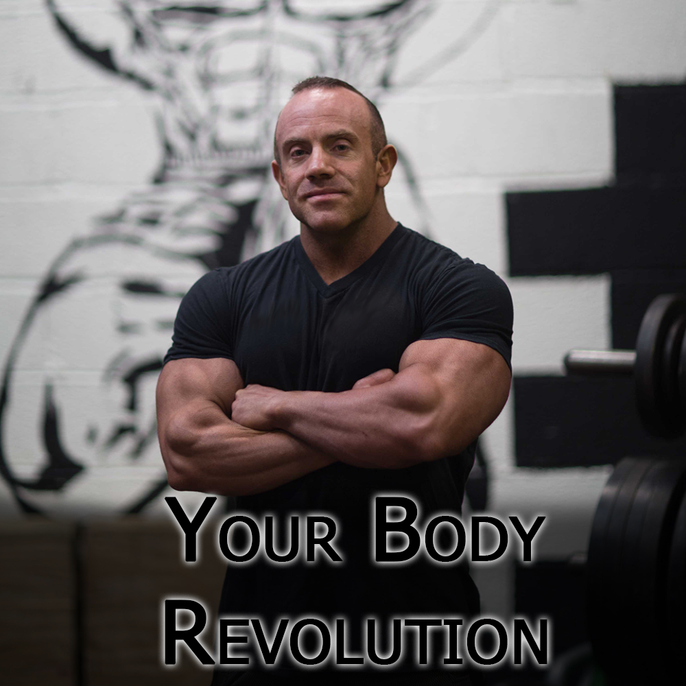 Tom Blackman stood in Gym for a photo advertising Your Body Revolution program