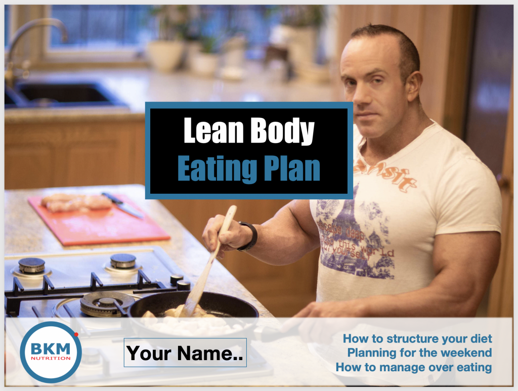 Front cover of the lean body eating plan