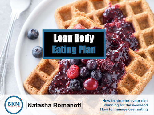 Fat Loss Meal Plan cover