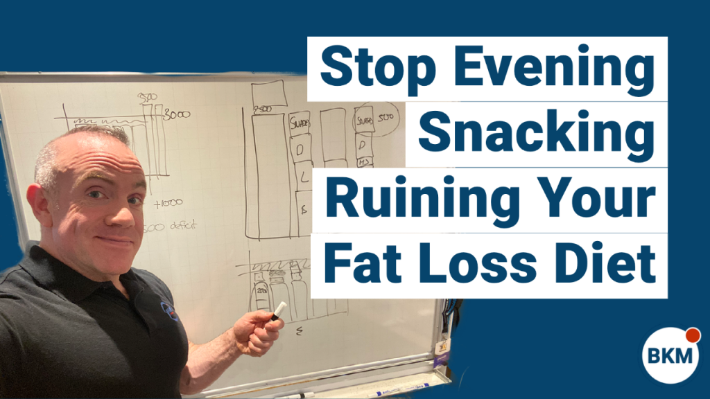 stop evening snacking to lose weight
