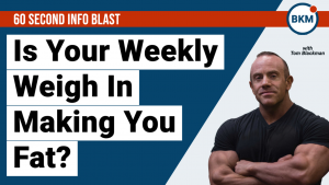 Is your weekly weigh in making you fat