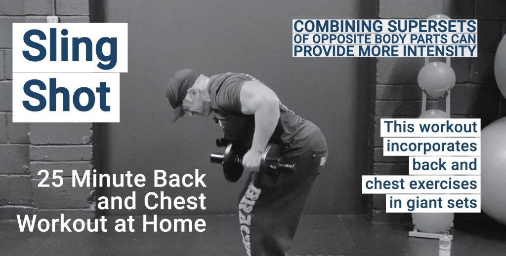back annd chest workout with dumbbells at home