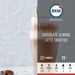 Chocolate Almond Latte Smoothie