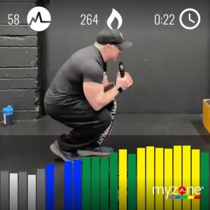 f my legs kettlebell volume workout myzone calories