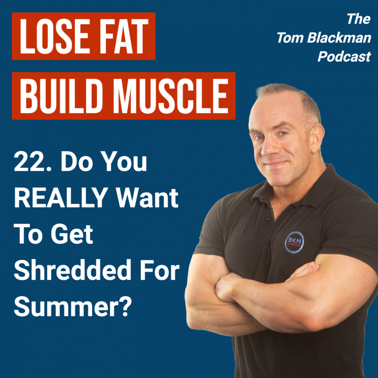 Do you really want to get shredded for summer